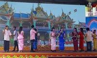 Đồng bào Khmer ở Sóc Trăng vui đón lễ Sene Dolta