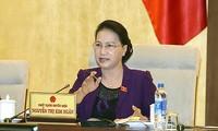 Ủy ban Thường vụ Quốc hội cho ý kiến về ngân sách Trung ương và phương án phân bổ