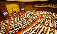 Quốc hội biểu quyết thông qua Nghị quyết về tình hình kinh tế - xã hội