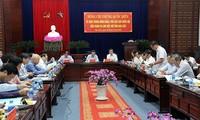 Phó Chủ tịch Quốc hội Phùng Quốc Hiển làm việc với tỉnh Bạc Liêu