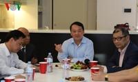Đoàn đại biểu Mặt trận Tổ quốc Việt Nam gặp gỡ doanh nghiệp kiều bào tiêu tiểu của Australia