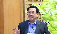 Phó Thủ tướng Vương Đình Huệ chủ trì hội nghị thống kê các bộ, ngành