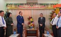 Lãnh đạo Thành phố Hồ Chí Minh thăm Hội thánh Tin lành Việt Nam nhân mùa Giáng sinh