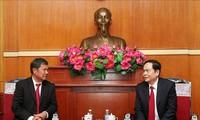 Thắt chặt mối quan hệ hợp tác giữa hai tổ chức Mặt trận Việt Nam – Lào