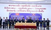 Công bố tác phẩm Hồ Chí Minh toàn tập cuốn 5-7-8 từ tiếng Việt sang tiếng Lào