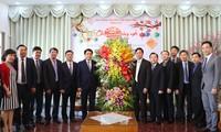 Chủ tịch UBND thành phố Hà Nội tới thăm, chúc Tết Tổng Hội thánh Tin lành