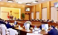 Ngày 21/2, diễn ra Phiên họp thứ 31 Ủy ban Thường vụ Quốc hội Khóa XIV