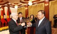 Mãi mãi giữ gìn, vun đắp phát triển mối quan hệ đặc biệt Việt Nam – Lào