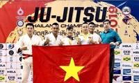 Việt Nam giành huy chương vàng tại Giải Ju-Jitsu Thái Lan mở rộng