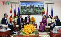 Đoàn đại biểu Ban Tôn giáo Chính phủ hội kiến Phó Thủ tướng Campuchia