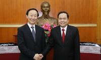 Góp phần vun đắp quan hệ hữu nghị giữa nhân dân hai nước Việt Nam - Trung Quốc