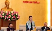 Ngày 10/4 khai mạc Phiên họp thứ 33 của Ủy ban Thường vụ Quốc hội khóa XIV