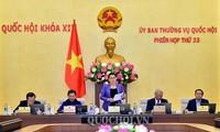 Ủy ban Thường vụ Quốc hội bước sang tuần làm việc thứ 2 của phiên họp 33