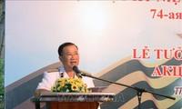 Thành phố Hồ Chí Minh: Kỷ niệm 74 năm Ngày Chiến thắng phát-xít