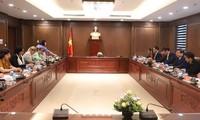 Chủ tịch Quốc hội Nguyễn Thị Kim Ngân tiếp Viện trưởng Viện Kiểm sát nhân dân tối cao Cuba