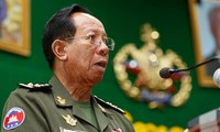 Bộ trưởng Quốc phòng Campuchia Tea Banh. - Ảnh: Khmer Times