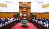 Việt Nam ủng hộ Italy tăng cường quan hệ với các nước ASEAN