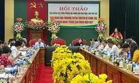 Báo Đảng tích cực tuyên truyển, cổ vũ nhân dân tham gia xây dựng Đảng