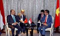 Các cuộc gặp giữa Lãnh đạo Cấp cao ASEAN bên lề Hội nghị cấp cao ASEAN lần thứ 34