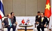 """Thủ tướng Chính phủ Nguyễn Xuân Phúc trả lời phỏng vấn báo Thái Lan """"The Nation"""""""