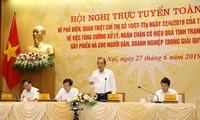 Phó Thủ tướng Trương Hòa Bình chủ trì Hội nghị trực tuyến về phổ biến quán triệt Chỉ thị của Thủ tướng Chính phủ
