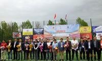 Khai mạc Giải bóng đá cộng đồng Việt Nam tại Liên bang Nga năm 2019