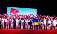 Đêm giao lưu giữa thanh niên Quảng Ngãi với đại biểu Trại hè Việt Nam 2019