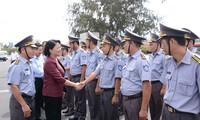 Phó Chủ tịch nước Đặng Thị Ngọc Thịnh thăm và làm việc với Vùng 4 Hải quân