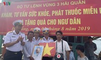 """Phát động Chương trình """"Hải quân Việt Nam làm điểm tựa cho ngư dân vươn khơi bám biển"""""""