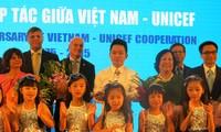 Празднование 40-летия сотрудничества между Вьетнамом и ЮНИСЕФ