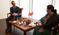 Тонг Тхи Фонг приняла участие в программе «Дни Вьетнама в Дании»