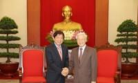 Нгуен Фу Чонг принял делегацию праващей партии Сингапура «Народное действие»