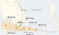 Вьетнам готовится встретить тайфун «Тембин»