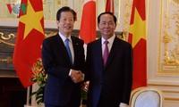 Президент Вьетнама встретился с лидером партии «Комэйто»