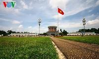 Площадь Бадинь, где произошло историческое для всего вьетнамского народа событие