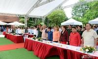 Прошла церемония памяти Президента Хо Ши Мина в связи с 50-летием со дня его смерти