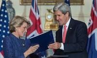 สหรัฐและออสเตรเลียคัดค้านปฏิบัติการเพียงฝ่ายเดียวเพื่อเปลี่ยนแปลงสภาพในทะเลตะวันออกและทะเลฮัวตุ้ง