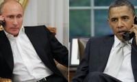 บรรดาผู้นำรัสเซียและสหรัฐเจรจาเกี่ยวกับปัญหาที่ร้อนระอุของโลก
