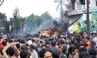 เกิดเหตุเครื่องบินทหารตกในประเทศอินโดนีเซีย