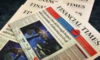 เครือบริษัทการสื่อสารญี่ปุ่นซื้อหนังสือพิมพ์เดอะไฟแนนเชียลของอังกฤษ