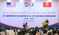 พิธีฉลองครบรอบ๒๐ปีความร่วมมือด้านสาธารณสุขระหว่างเวียดนามกับสหรัฐ