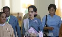 ผู้นำพรรคฝ่ายค้านและประธานรัฐสภาพม่าเห็นพ้องเกี่ยวกับการปรองดองแห่งชาติ