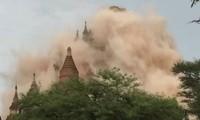 เกิดเหตุแผ่นดินไหวขนาด๖.๘ริกเตอร์ในประเทศเมียนมาร์