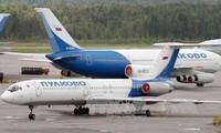 รัสเซียระงับการใช้เครื่องบินTU-๑๕๔ทั้งหมด