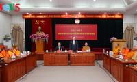 เสริมสร้างความสัมพันธ์ด้านพุทธศาสนาระหว่างเวียดนามกับไทย