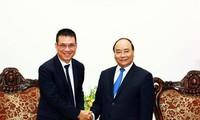 นายกรัฐมนตรีเวียดนามให้การต้อนรับประธานเครือบริษัทเอสซีจี