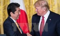 ญี่ปุ่นและสหรัฐเห็นพ้องที่จะประสานงานอย่างใกล้ชิดเกี่ยวกับปัญหาของเปียงยาง