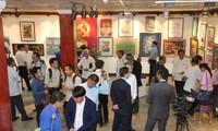 เปิดงานนิทรรศการศิลปะเวียดนาม-ลาว