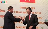 พิธีฉลองครบรอบ50ปีการสถาปนาความสัมพันธ์ทางการทูตเวียดนาม-กัมพูชา