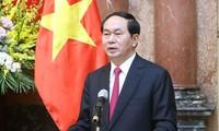 ประธานประเทศเวียดนามให้สัมภาษณ์สื่อมวลชนของรัสเซียและเบลารุส